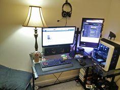 So I finally upgraded my 10 year old desk.