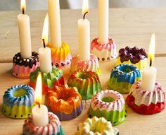 DIY Mini-Gugl Kerzenständer