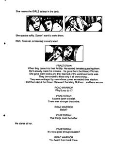 Post with 13 votes and 3725 views. Shared by Mad Max Fury Road - Original Script / Storyboard excerpts Mad Max Fury Road, He Wants, Storyboard, Viral Videos, Trending Memes, Script, Funny Jokes, Album, History