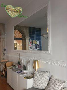 #Decoração elegante! Sensações naturais em Gesso... Mais ideias... #Elegant decor! Natural sensations in plaster... More ideas... #Décor élégant! Sensations naturelles en plâtre... Plus d'idées... intergesso.com  Peças usadas: Friso em Gesso L5010  #Amiga do ambiente #Environmentally friendly #Ami de l'environnement  #decoraçãoemgesso #plasterdecoration #gypsumdecoration #decorationplatre