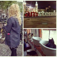 Amsterdam was fanastic! #Holland #Iamsterdam #Poezenboot