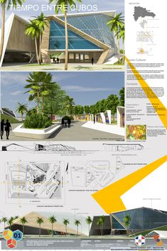 Gallery of XXXI ELEA Norte presents its winning projects - 3 - Arquitectura Concept Board Architecture, Architecture Design, Natural Architecture, Architecture Presentation Board, Landscape Architecture Drawing, Landscape Sketch, Architecture Panel, Architecture Portfolio, Residential Architecture