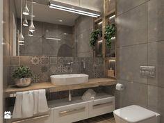 Mieszkanie Dla Młodych :) - Średnia łazienka bez okna, styl nowoczesny - zdjęcie od Inside Outside Design