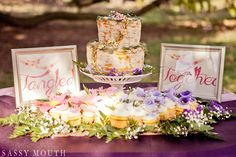 A #Tangled-inspired Wedding Shoot