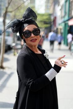 18 Fabulous Style Tips From Senior Citizens. Hats....the bigger , the better