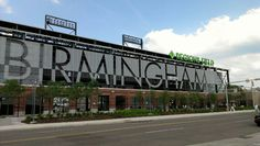 Regions Field Birmingham Alabama. In April of 2013, the Birmingham Barons played their first game in their new park.