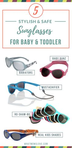 693f65a93b2 5 Best Sunglasses for your Baby or Toddler. Looking for some killer frames  for your