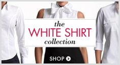 Shop InStyle Essentials - a wardrobe of white shirts designed and sized according to your bra measurements.