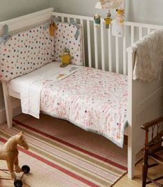 Buy your Joules Cot/Cotbed 3 Piece Bedding Set - Mad Hatter from Kiddicare Quilt and Bumper Sets| Online baby shop | Nursery Equipment