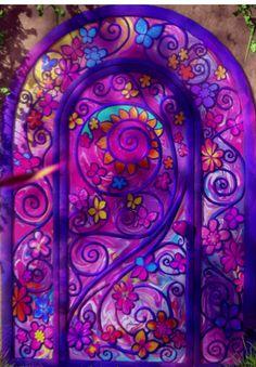 Photo of secret door for fans of Barbie Movies. barbie and the secret door in blu-ray and dvd fall 2014 Barbie Birthday, Barbie Party, Glass Cabinet Doors, Sliding Glass Door, Barbie Cartoon, Play Corner, O Portal, Diy Barn Door Hardware, Room Door Design