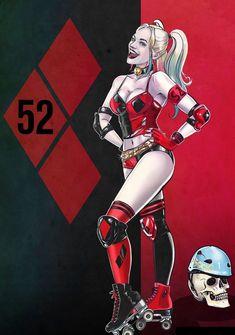 New 52 Harley Harley Quinn Et Le Joker, Harley Quinn Drawing, Harley Quinn Cosplay, Dc Comics Art, Comics Girls, Batgirl, Catwoman, Supergirl Superman, Harey Quinn