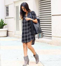 """""""Everyone's favorite shirt dress (under $25!) is now on www.thematerialgirl.co ❤️ <direct link in bio> All sizes have been restocked! You can also shop by…"""""""