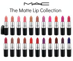 The MAC Matte Lip Collection