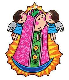 Virgencitas plis para imprimir