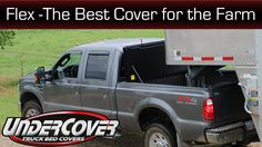 UnderCover Flex is the ideal cover for a farmer who needs access to the bed and protect their tools while in the field... Here is Mark's testimonial on why he love his flex cover for the farm.