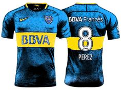 Boca Juniors Jersey Shirt For Cheap pablo perez 17-18 Home Kit