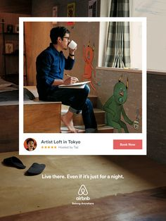 For its new campaign Airbnb imagined prints that make us want to go on holidays. To highlight the fact that the first reason people chose Airbnb is Apple Advertising, Coffee Advertising, Sports Advertising, Advertising Campaign, Social Campaign, Retro Advertising, Email Campaign, Vintage Advertisements, Ads Creative