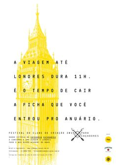 Festival do Clube de Criação - Categoria Estudante - Jessyca Silva - Copywriter
