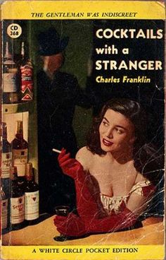 Vintage Books - Cocktails With a Stranger