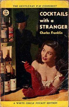 Vintage Books - Cocktails With a Stranger