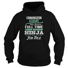 AWESOME TEE FOR COMMUNICATION ASSOCIATE HOODIE  This shirt is for you! Tshirt, Women Tee and Hoodie are available. 👕 BUY IT here: https://www.sunfrog.com/Awesome-Tee-For-Communication-Associate-144267776-Black-Hoodie.html?id=57545