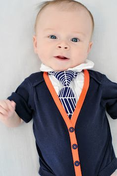How adorable are these onesies? Instructions on how to make them. Bring on the grandbabies.