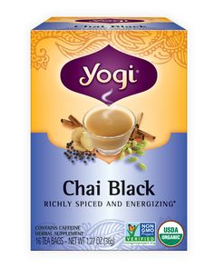 This rich, full-bodied cup made from organic Assam black tea blended with energizing chai spices is the perfect way to rejuvenate and awaken your senses.