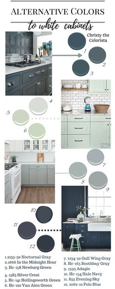 Hey, let me just be clear. I'm totally NOT against white kitchen cabinets. SWEAR. Partially because my own cabinets are white…hah! But if I could change my kitchen like I change my wa…