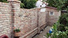 Fence Design, Brick Wall, Bali, Backyard, Outdoor Structures, Garden, Outdoor Decor, Gardens, Wall