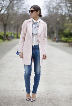 Sophisticated Outfit Idea with Silver Pumps - don't like the bow but love the rest of the outfit