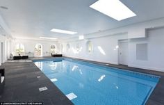The home was recently refurbished and extended to include a leisure complex with indoor swimming pool - fit for any pop princess