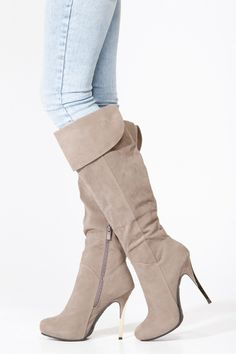 cute heeled boots!