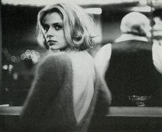 """""""Wim Wenders, Nastassja Kinski in """"Paris, Texas"""", 1984  """""""