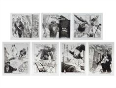William Kentridge, 7 Works: Industry and Idleness: Waiting out the Recession; Lord Mayor of Derby Road; Double Shifts on Weekends too; Coda; Responsible Hedonism; Forswearing Bad Company and Buying London with the Trust Money