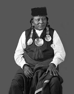 Chief Red Dog is a bit of an enigma. Very difficult to get any information on him. He was a part of the Sioux Alliance that brought about the downfall of General Custer at the Little Big Horn. He was the chief of the Makhaicu Sioux. Photo taken 1872.