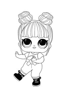 LOL Hairvibes Blackbelt coloring page
