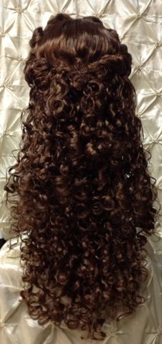 Phantom of the Opera Christine Daae Wig by TimeAfterTimeDesigns the back