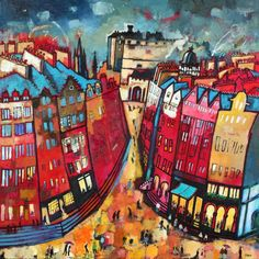 'Edinburgh Nights' by Rob Hain