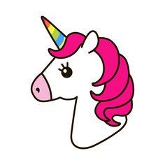 White unicorn vector head with mane and horn. Unicorn on starry background. Unicorn Painting, Unicorn Drawing, Cartoon Unicorn, Unicorn Head, Unicorn Art, Rainbow Unicorn, Cartoon Clip, Kawaii Drawings, Cartoon Drawings