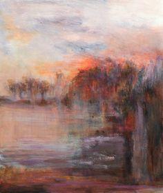 "Saatchi Online Artist Rikka Ayasaki; Painting, ""Boulogne forest"" #art"