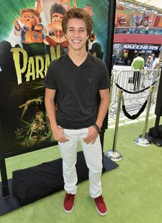 Billy Unger Attends The ParaNorman Premiere