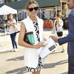 The Olivia Palermo Lookbook : Olivia Palermo At  New York Fashion Week Spring 20...