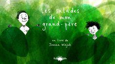 """Mon premier album jeunesse """"Les salades de mon grand-père"""" est maintenant disponible chez les libraires et sur le site des éditions Le diplodocus : http://www.le-diplodocus.fr/catalogue/les-salades-de-mon-grand-pere  Merci à Émilie de Moon Cat Studio pour la belle animation !"""