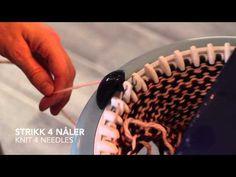 Hvordan strikke sokker (tovet) / How to knit socks (felted) - Prym Maxi . Addi Knitting Machine, Circular Knitting Machine, Knitting Help, Knitting Machine Patterns, Knitting Videos, Knitting For Beginners, Knitting Needles, Knitting Socks, Knit Socks