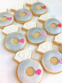 Bling Ring...Engagement Ring Cookies (1 dozen)