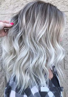 Ice Blonde Haircolors Ice Blonde Haircolors 50 Stunning Ice Blonde Hair Color Perfections for 2018 Ice Blonde Hair, Cool Blonde, Platinum Blonde Hair, Blonde Color, Platinum Highlights, Blonde Hair With Silver Highlights, Blonde Brunette, Silver Platinum Hair, Ice Hair