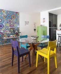 Image result for cadeiras coloridas para varanda