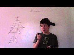 Jehlan - geometrie, rýsování, výpočty - YouTube