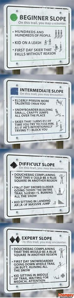 snowboarding rules funny