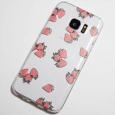 Cute Cartoon Strawberries Samsung Galaxy S7 Case